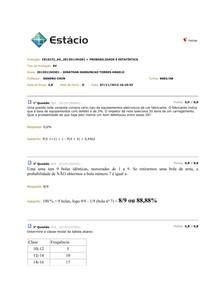 CEL0272 - PROBABILIDADE E ESTATÍSTICA