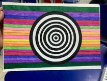 Arte visuais de ilusão de ótica