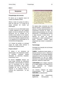 fisiopatologia dos tumores- neoplasias
