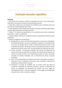 Contração muscular esquelética