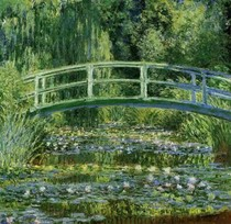 Water Lily Pond - Claude Monet
