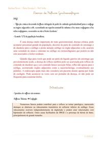 Doença do Refluxo Gastroesofágico - prof cortez - Lene Ferrari 2020