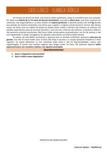 Caso Clínico - Diarreia crônica
