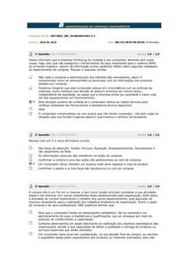 ADMINISTRAÇÃO DE COMPRAS E SUPRIMENTOS