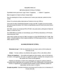 c386e06e5fa4b RESUMO FUTSAL E FUTEBOL - Metodologia do Futsal e Futebol