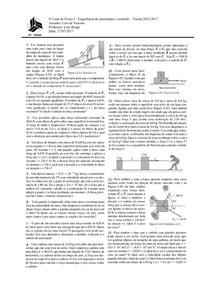 6ª lista -Leis de Newton