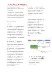 Resumo Farmacologia parte 1