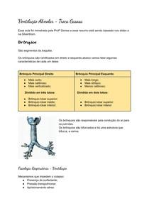 Ventilacão Alveolar - Troca Gasosa