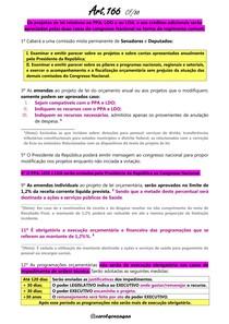 Resumo Artigo 166 da CF/88 - Concurso