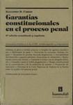 CARRIO, Alejandro. Garantias constitucionales en el proceso penal