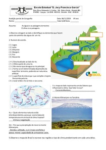 Avalição Geografia