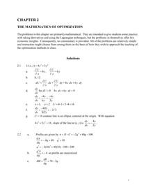 Nicholson Microeconomics-Solutions-Manual