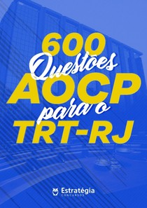 600-Questões-AOCP-TRT-RJ-CORRIGIDO