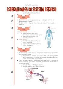 [06 04 2020] Generalidades do Sistema Nervoso