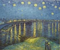 Vincent Willem van Gogh A Noite Estrelada-Over-the-Rhone