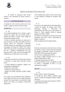AULA - REGULAÇÃO DO CICLO CELULAR