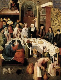 Hieronymus Bosch - The Marriage Feast at Cana