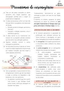 Mecanismos de carcinogênese