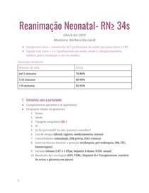 Reanimação neonatal