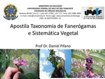 Apostila Taxonomia de Fanerogamas e Sistematica Vegetal