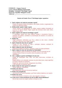 Estudo Dirigido Farmacobotanica - P2