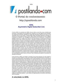 Redes ADSL
