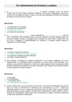 Av1 Administracao de Producao e Logistica - Adm 7 Sem