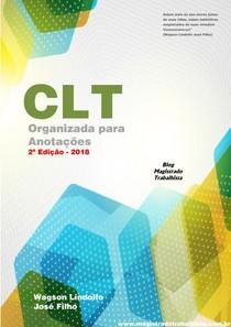 #CLT Organizada para Anotações   2018 1