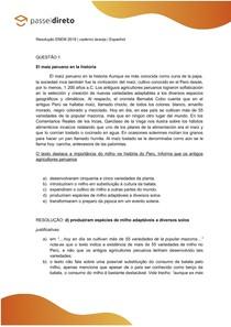 Correção Questões Prova ENEM 2019 - Dia 1   Caderno Laranja   Espanhol
