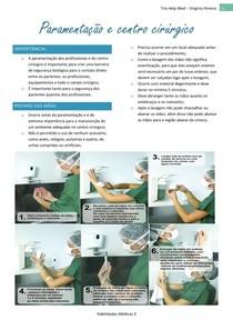 Paramentação e Centro Cirúrgico