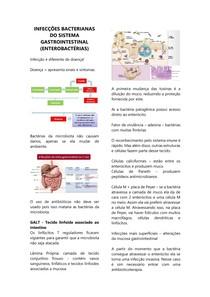Infecções bacterianas gastrointestinais - Enterobactérias