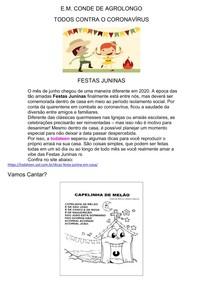 SR - Atividades Festa Junina 16-06-2020