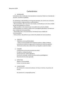 Bioquímica carboidratos e nucleotídeos