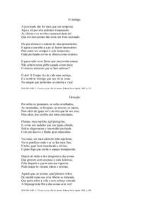 O Inimigo e Elevação - Baudelaire