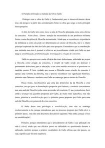 A Paródia utilizada no método de Silvio Gallo