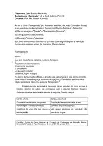 Conto Famigerado João Guimarães Rosa
