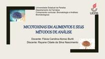Micotoxinas em alimentos