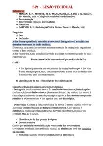 SP1 - LESÃO TECIDUAL (tutoria)