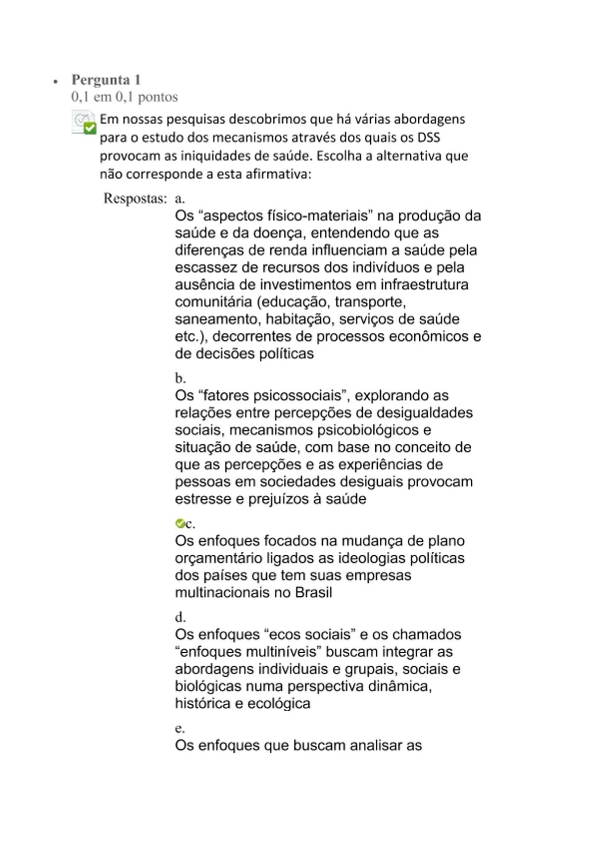 Pre-visualização do material questionario 2 - página 1