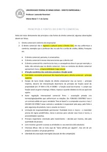 DIREITO EMPRESARIAL I - títulos de crédito, teoria da empresa