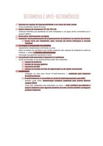 Histamina e anti-histamínicos
