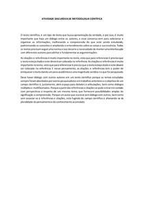METODOLÓGICA CIENTÍFICA- TEXTO CIENTÍFICO