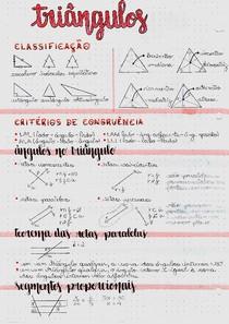 Resumo | Triângulos