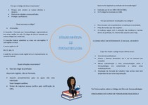 MAPA MENTAL CODIGO DE ETICA DA FONOAUDIOLOGIA