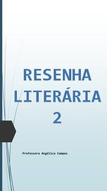 Resenha Literária 2