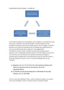 REVISÃO DIREITO CONSTITUCIONAL I