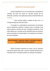 GESTÃO DE INOVAÇÃO - Conceito 1.1