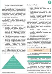 RESUMO MICROIMUNO - RELAÇÃO PARASITA-HOSPEDEIRO