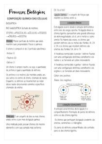Composição quimica da células, ácidos, bases, pH e tampões