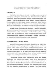 Manual de Producão Acadêmica
